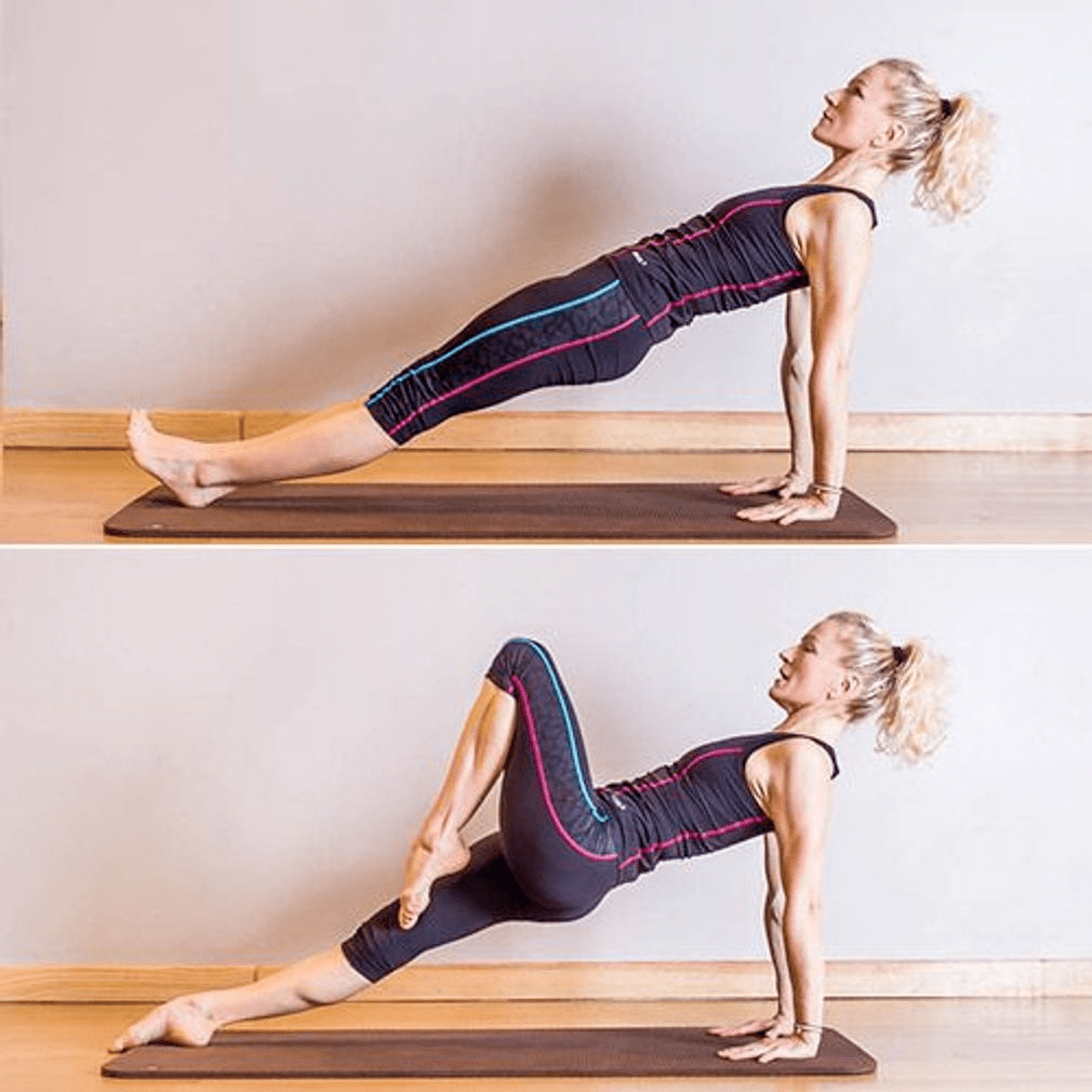 10个高效塑形的瑜伽变体,每天30分钟,紧致肌肉抗衰老!_动作