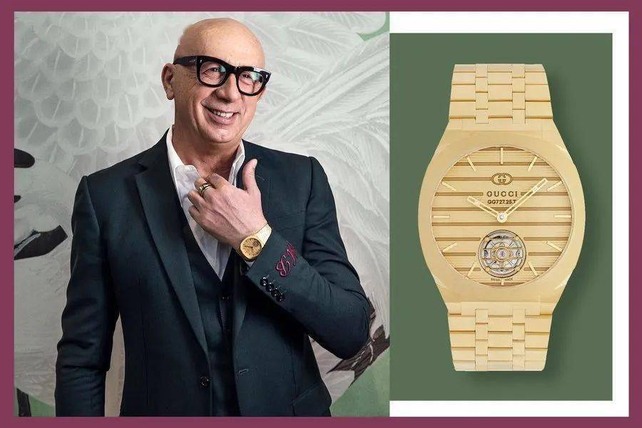 "Gucci 推出""瑞士制造""的奢华腕表"
