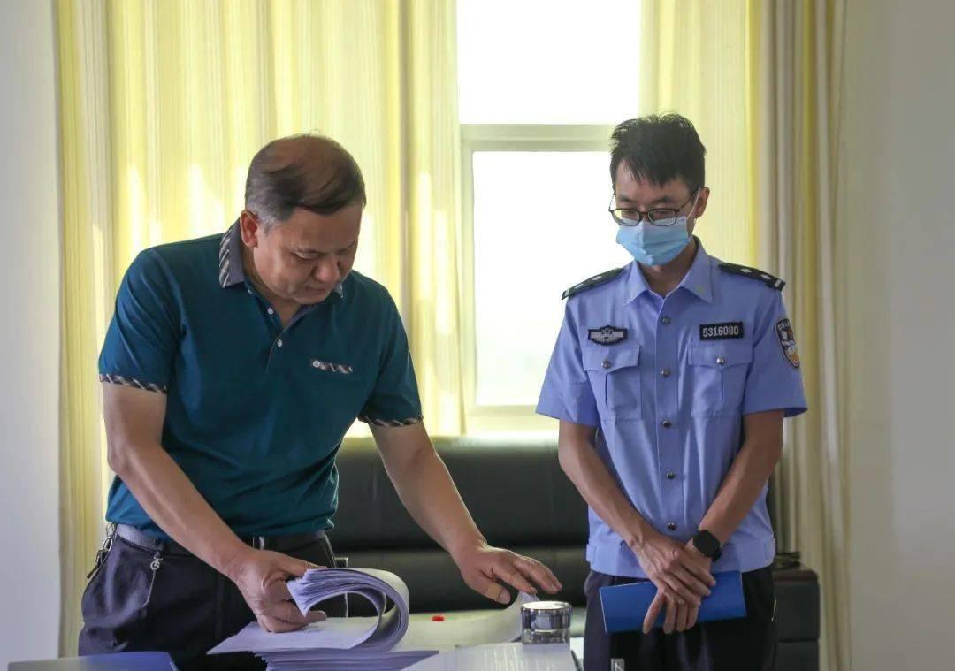 【队伍教育整顿】云南省司法行政队伍教育整顿第五指导组到西双版纳监狱检查指导工作