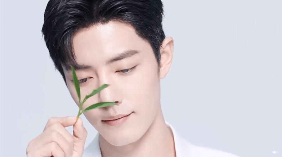 肖戰真果粒全新廣告大片公開您的春日清新男友上線!