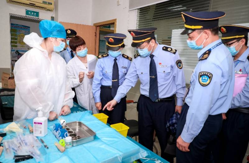 保障疫苗接种安全广东进行新冠病毒疫苗接种工作督查