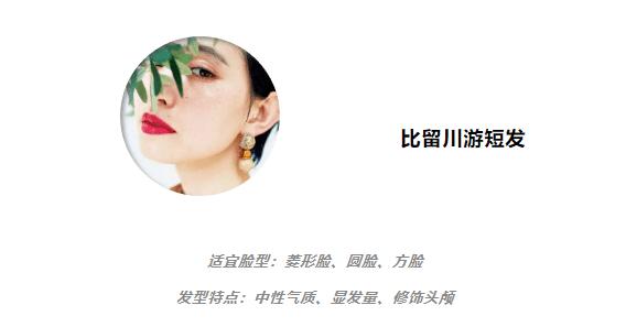 2021亚洲最火的短发模uwin电竞游戏板来了!瘦脸成就堪比整容