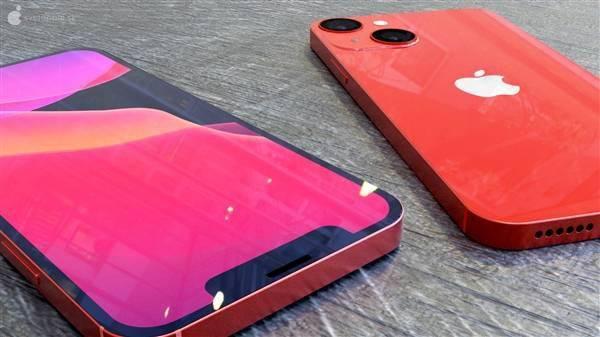 iPhone 13 mini高清渲染图:刘海更下、屏占比更高的照片 - 3