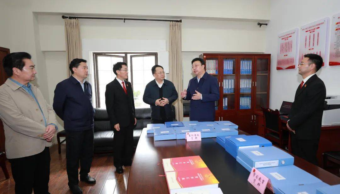 中央第十四督导组组长李佳在绵阳调研督导政法队伍教育整顿工作