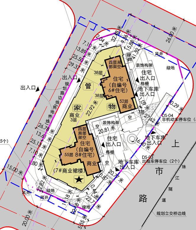 最高55层,容积率过7!荔湾全新盘规划批了