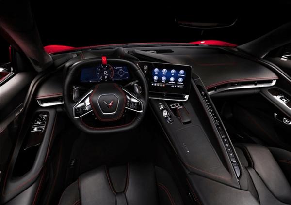 """美国版""""法拉利""""!克尔维特C8亮相上海车展 V8动力暴躁"""