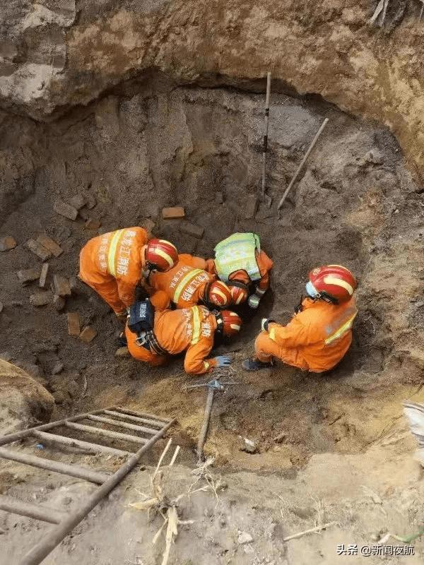 突发!牡丹江一老人被埋地窖4小时后获救