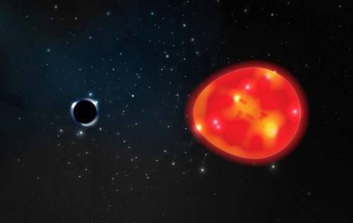 科学家发现有史以来最小黑洞:质量仅为太阳三倍,距地球1500光年