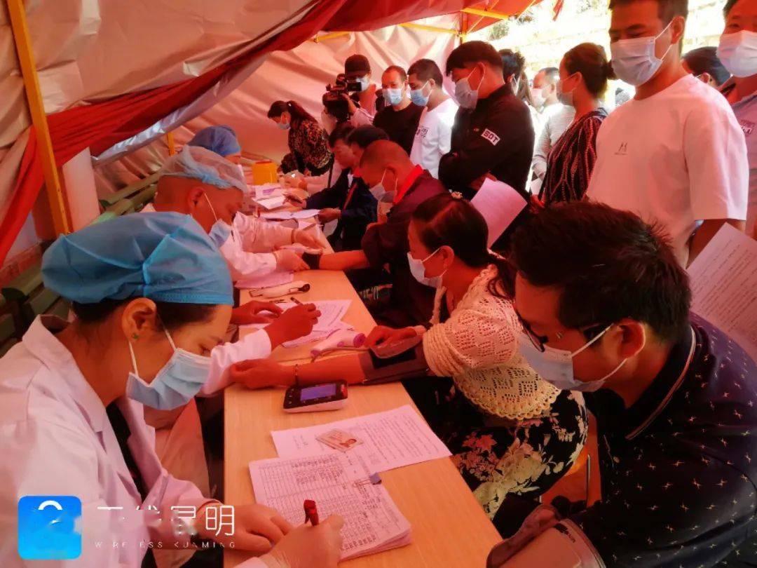 这一片区人员接种更方便!阳宗海新冠疫苗接种点启用