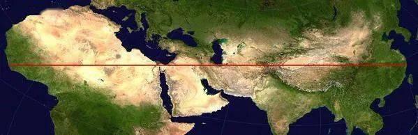 【地理视野】地理老师没有给你讲过这些罕见地图,因为可能会颠覆你的世界观  第16张