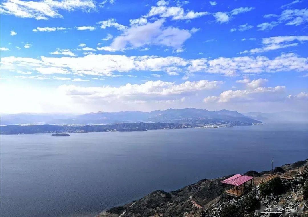 东岸最高!这座抚仙湖畔最近很热门的山,你去打卡没?