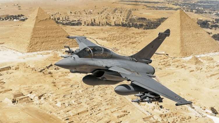 埃及斥资39亿欧元采购30架法国阵风战机