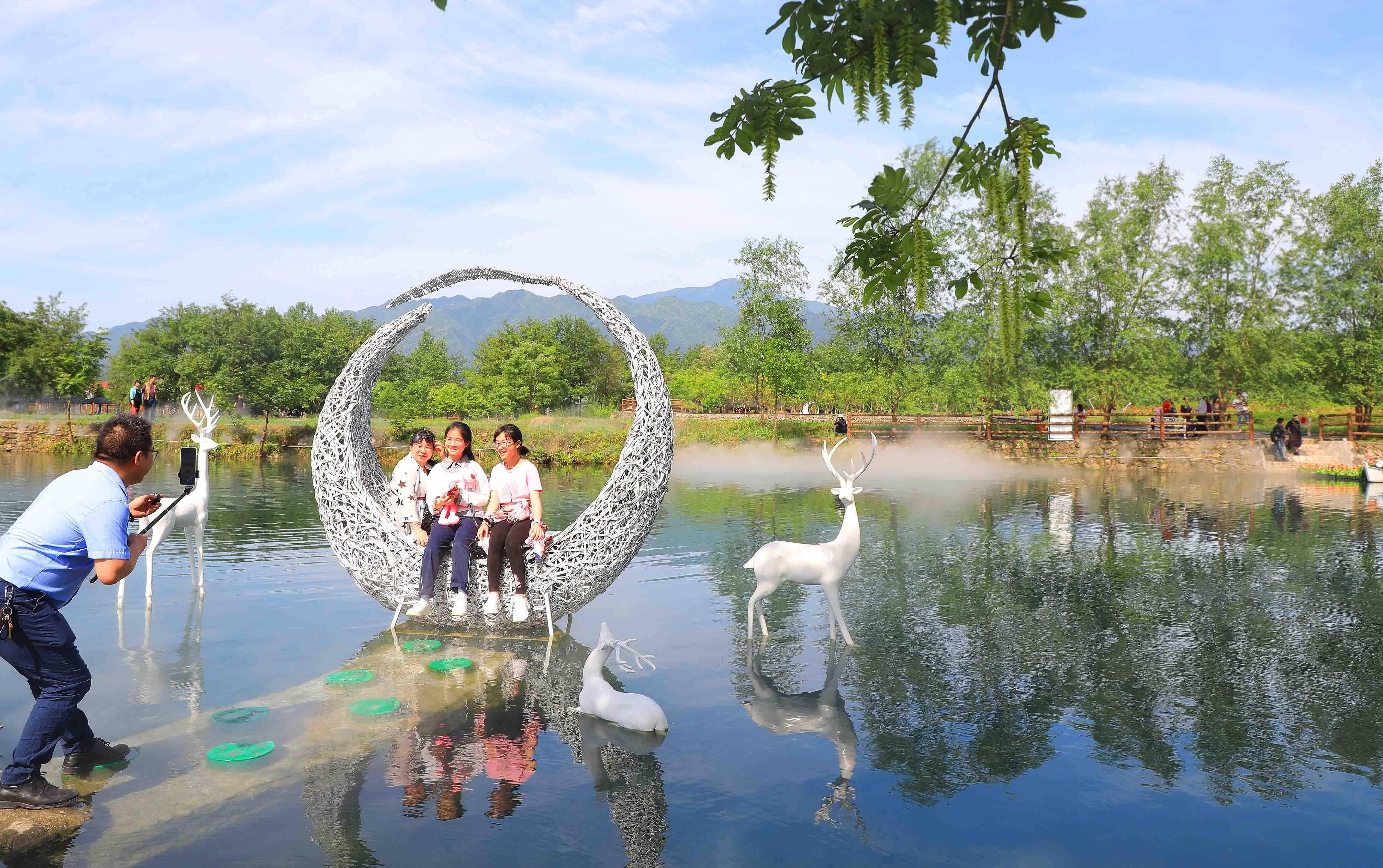 湖南东安:乡村微旅游热五一