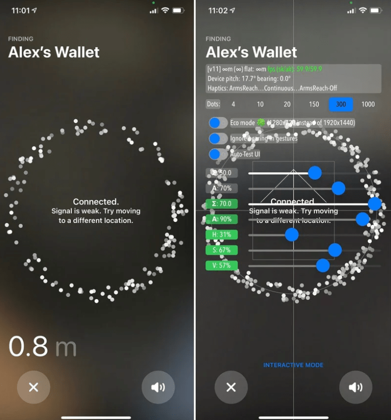 苹果 AirTag 追踪界面隐藏有开发者模式(附开启方法) :可帮助追踪和查找重要物品