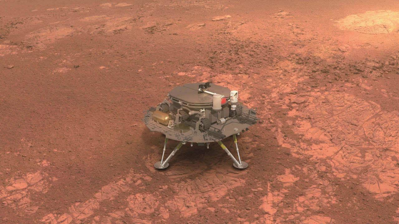 """""""天问一号""""成功着陆!火星探测不再美国独大,中国正式入局"""
