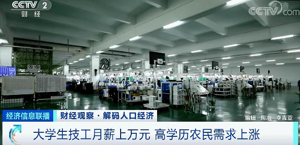 广州上千名老板街头举牌被工人挑:月薪过万难招工的照片 - 6