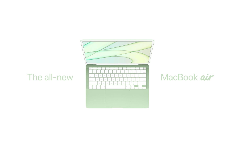 苹果 M1X 或 M2 版 MacBook Air计划采用M1处理器升级版 有望今年底发布