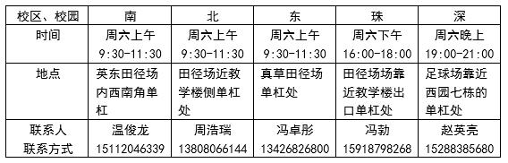 中山大学首届引体向上百日挑战赛通知