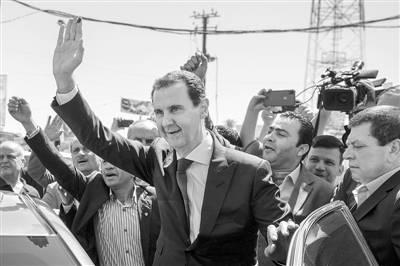 巴沙爾在敘總統選舉中獲勝連任