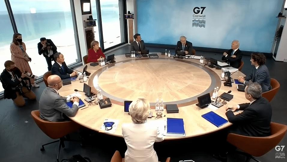 """""""中国不是G7成员,却主导着整个峰会议程"""""""