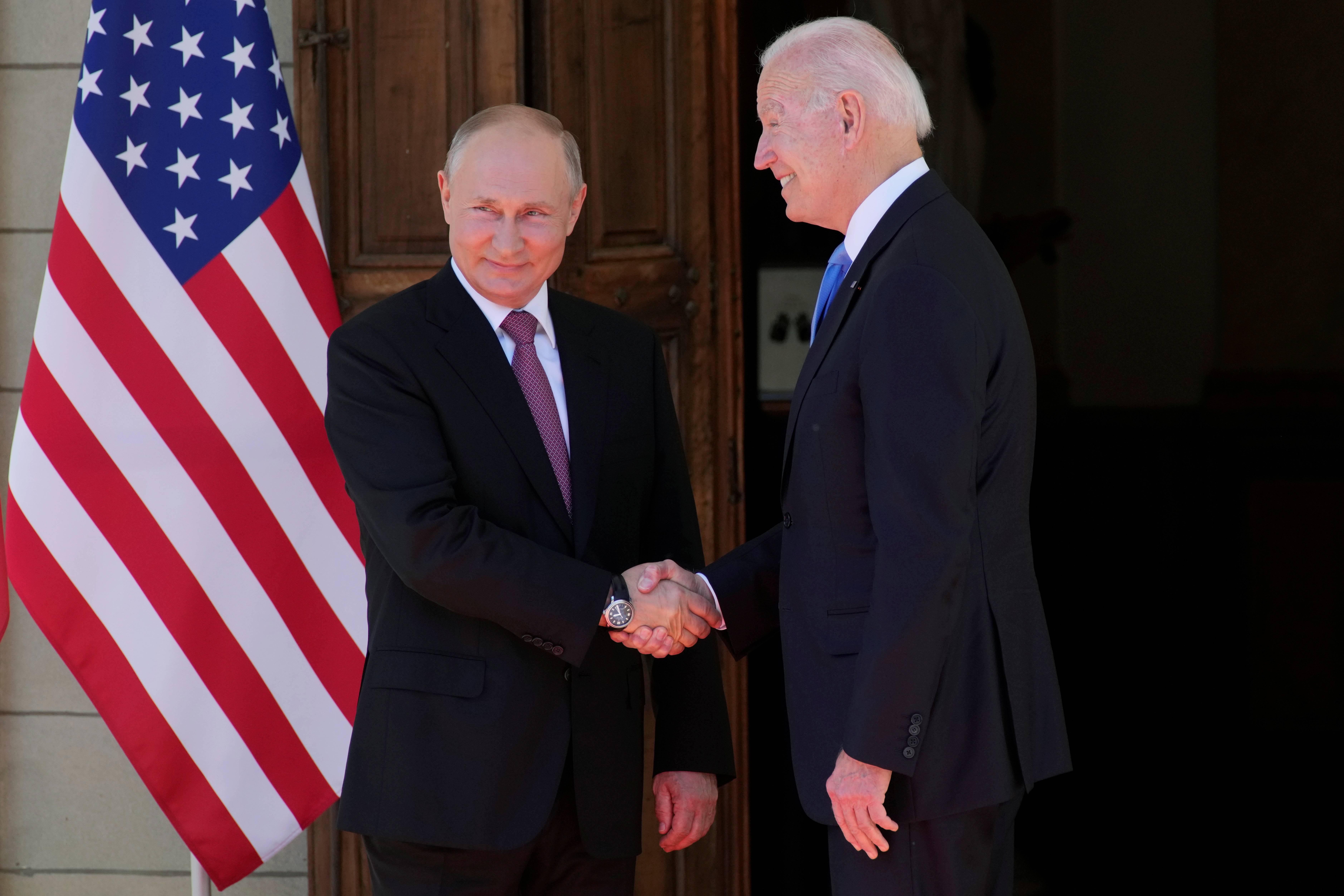 """""""普拜会""""正式开始,拜登成第五位与普京会晤的美国总统"""