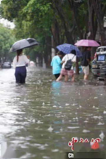 郑州大暴雨,1小时降201.9毫米!I级响应!