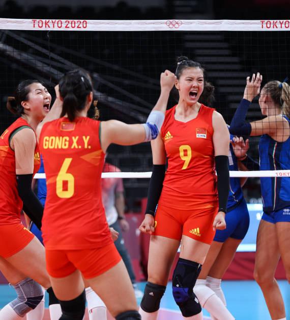 东京奥运会|中国女排赢下捍卫荣誉之战