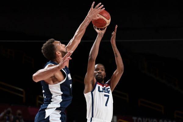 杜兰特29分!美国男篮击败法国,卫冕奥运男篮金牌