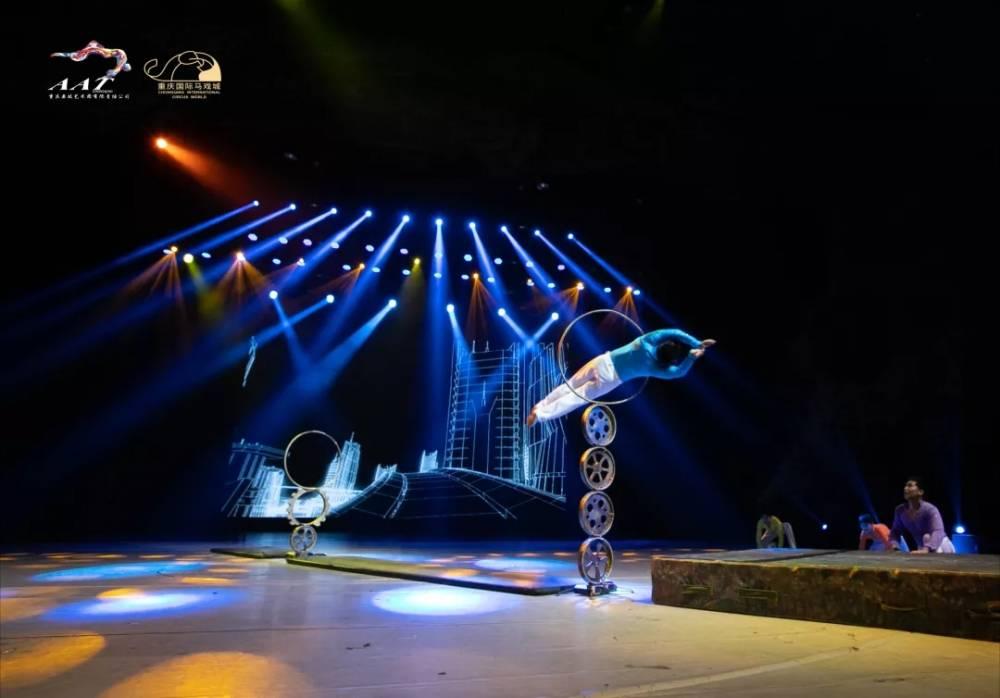 """高空皮条、""""死亡轮""""、大蹦床……《极限快乐Show》中秋回归国际马戏城"""