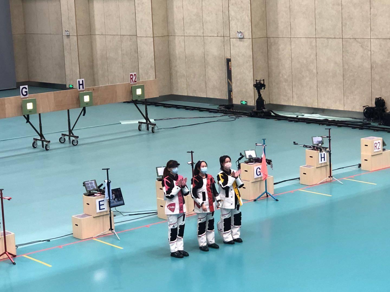 杨倩全运会10米气步枪夺铜 全运会比奥运会难多了!
