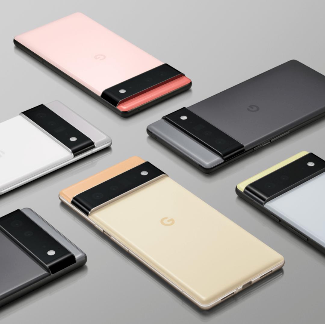 谷歌Pixel 6/Pro现身谷歌商店,Pixel Fold 折叠屏手机曝光