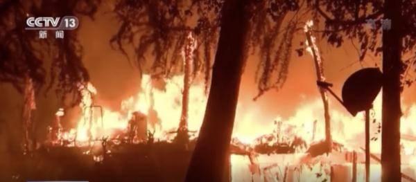 美国加州又起新山火 一名纵火嫌疑人被捕