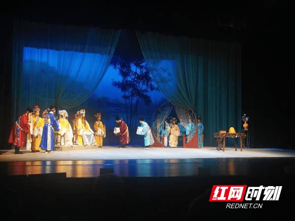 第七届湖南艺术节复排传统经典戏曲剧目和新创小戏展演在益阳启幕